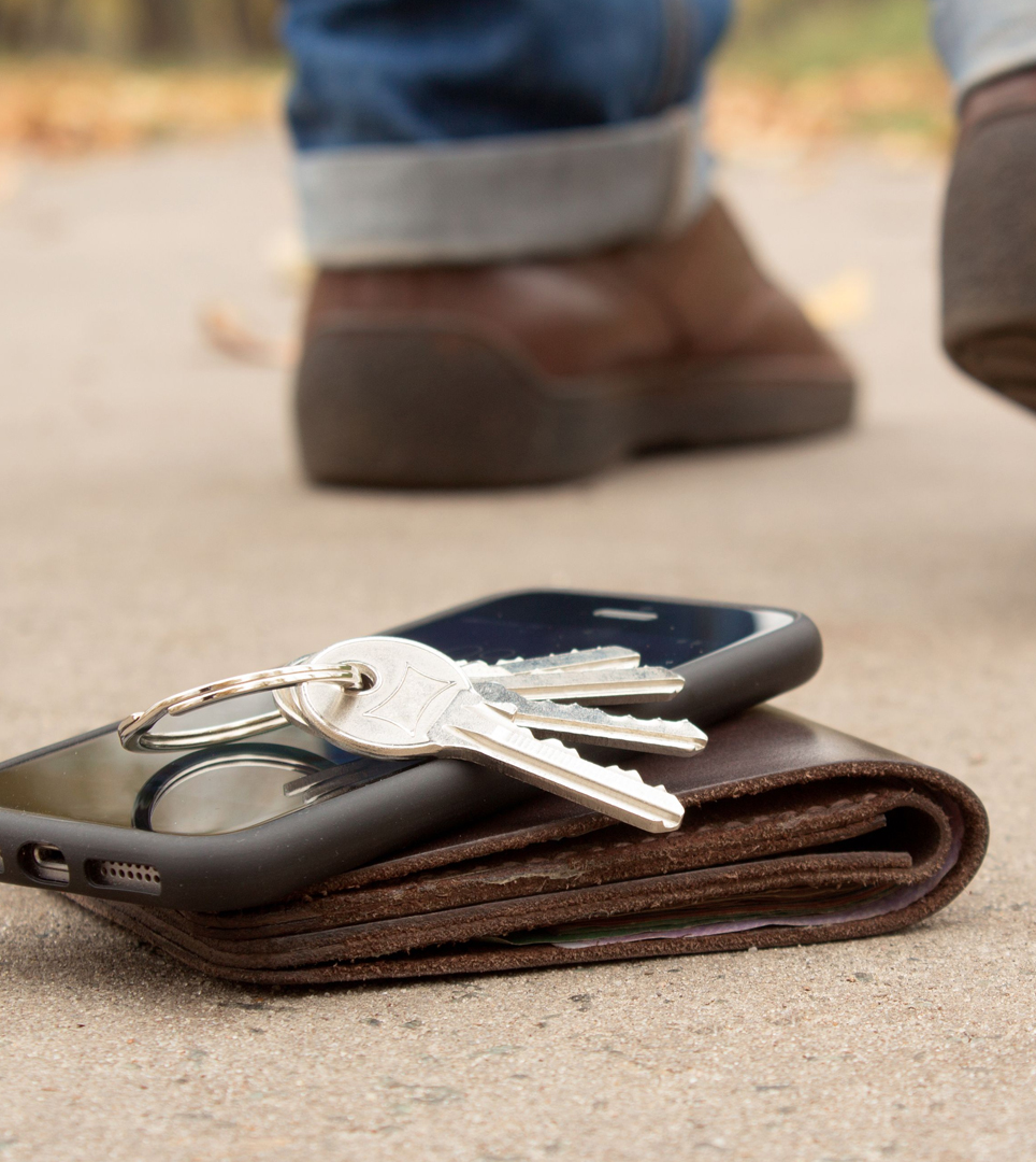 USE OUR DIGITAL LOST & FOUND FOR ITEMS LEFT BEHIND